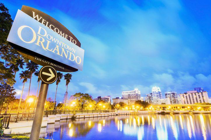 Orlando Florida, Downtown Orlando
